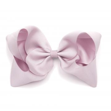 EXTRA LARGE HAIR BOW – ICY PINK