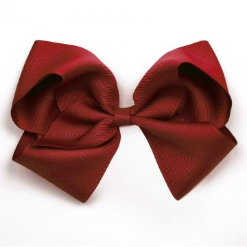 EXTRA LARGE HAIR BOW – SCARLET RED