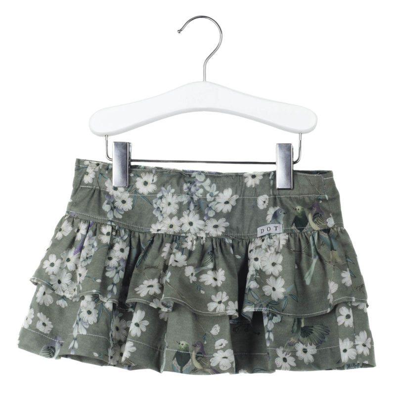 HYACINTH Skirt – Green Flower