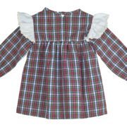 Red Check Blouse